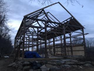 Barn Rebuild