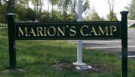 Marion's Camp sign